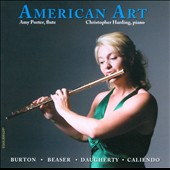 American Art - Bruton: Flute Sonatina; Beaser: Variations; Daugherty: Crustal; Caliendo: Flute Sonata no. 3 / Amy Porter, flute; Christopher Harding, piano