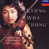 Prokofiev, Stravinsky: Violin Concertos / Chung, Previn
