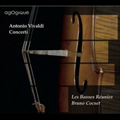 Antonio Vivaldi: Concertos for cello / Bruno Cocset, cello; Les Basses Réunies