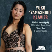 Modest Mussorgsky: Pictures at an Exhibition; Josef Suk: 6 Pieces, Op. 7 / Yuko Yamashiro, piano