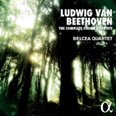 Beethoven: The Complete String Quartets / Belcea Quartet [8 CDs]