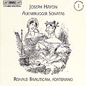 Haydn: Keyboard Sonatas Vol 1 - Auenbrugger / Brautigam