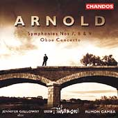 Arnold: Symphonies, Oboe Concerto / Galloway, Gamba, BBC PO