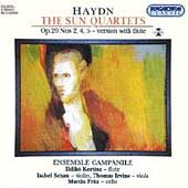 Haydn: Sun Quartets (version w/ flute) / Ensemble Campanile