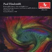 Hindemith: Woodwind Sonatas, etc / Henderson, Grossman, etc