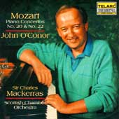 Mozart: Piano Concertos no 20 & 22 / O'Conor, Mackerras