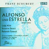 Schubert: Alfonso und Estrella / Sanzogno, Danco, Alva, etc