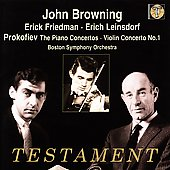 Prokofiev: The Piano Concertos, etc / Browning, et al