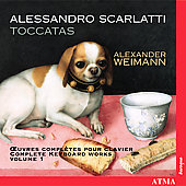 Scarlatti: Complete Keyboard Works Vol 1 / Weimann