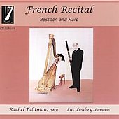 French Recital  bassoon and harp