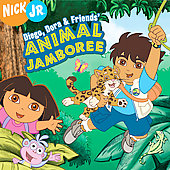 Various Artists: Diego, Dora and Friends' Animal Jamboree
