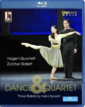 Dance & Quartet: Three Ballets - Janacek; Dvorak, Schubert / Hagen Quartett [Blu-Ray]