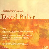 Paul Freeman Introduces... Vol 12 - David N. Baker Vol 2