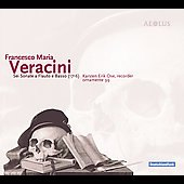 Veracini: Six Sonatas for Recorder / Ose, Eichler, et al