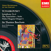 Tchaikovsky: Symphony no 4, etc / Beecham