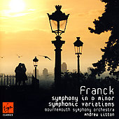The Classics - Franck: Symphony in D minor, etc / Litton
