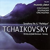 Tchaikovsky: Symphony no 6, Romeo and Juliet / J&#228;rvi, et al