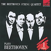 Beethoven: String Quartets Vol 1 / Beethoven String Quartet