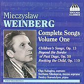 Weinberg: Complete Songs Vol 1 / Kalugina, Nikolayeva, Korostelyov