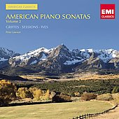 American Classics - American Piano Sonatas Vol 2 - Griffes, Ives, Sessions / Lawson