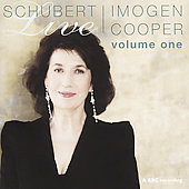 Schubert Live Vol 1 / Imogin Cooper