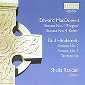 MacDowell: Piano Sonatas / Sheila Randell