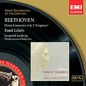 Beethoven : Conc. Piano 4, 5 - Philharmonia Orches