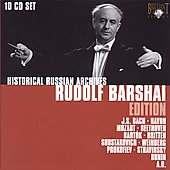 Historical Russian Archives: Rudolf Barshai Edition / Bach, Haydn, Mozart, Bartok et al. [10 CDs] (live, 1956 - 1974)