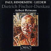 Hindemith: Lieder / Fischer-Dieskau, Reimann