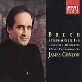Bruch: Symphonies no 1-3 / James Conlon, et al