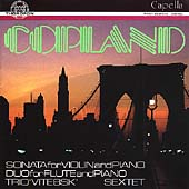 Copland: Chamber Works / Göbel Trio Berlin