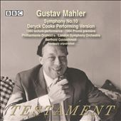 Gustav Mahler: Symphony No. 10 - Deryck Cooke Performing Version / Goldschmidt