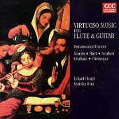 Virtuoso Music for Flute & Guitar /Eckart Haupt, Monika Rost
