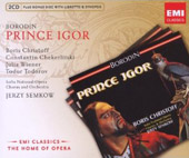 Borodin: Prince Igor / Christoff, Chekerliiski, Wiener, Todorov