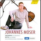 Britten, Shostakovich: Cello Concertos / Johannes Moser, cello