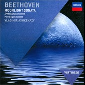 Beethoven: Moonlight Sonata; Pathetique Sonata; Appassionata Sonata / Vladimir Ashkenazy, piano