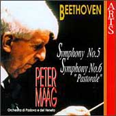 Beethoven: Symphonies no 5 & 6 / Peter Maag, Padova e Veneto