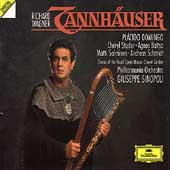 Wagner: Tannh&auml;user / Sinopoli, Domingo, Studer, Schmidt