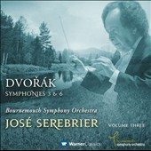 Dvorak: Symphonies Nos. 3 & 6 / Jos&eacute; Serebrier