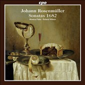 Johann Rosenmuller: Sonatas 1682 / Musica Fiata