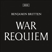 Britten: War Requiem / Galina Vishnevskaya, Peter Pears, Dietrich Fischer-Dieskau [Remastered, Anniversary  Edition] [CD+Blu-Ray Audio]