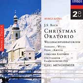 Bach: Christmas Oratorio / M&#252;nchinger, Ameling
