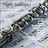 'Night Soliloquy' - works for flute and piano by Boulanger, Griffes, Barber, Rhene-Baton, Gubaidulina, Bennett, Kennan / Lori Bell, flute; Diane Snodgrass, piano