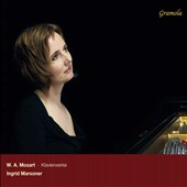 Mozart: Sonata in C Minor; K. 475; Fantasy K. 457; Sonata in A Major K. 331 / Ingrid Marsoner, piano