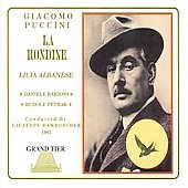 Puccini: La Rondine / Bamboscher, Albanese, Barioni, et al