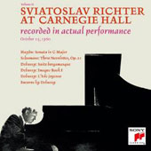Sviatoslav Richter at Carnegie Hall: October 25, 1960