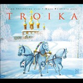 Troika - works for 2 pianos & piano 4-hands by Valery Gavrilin, Shostakovich and Arensky / Irina Shishkina & Maya Berdieva, pianists
