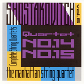 Shostakovich: String Quartets Vol 6 / Manhattan Quartet