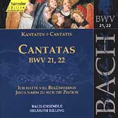 Edition Bachakademie Vol 7 - Cantatas BWV 21-22 / Rilling