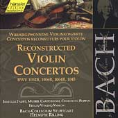 Edition Bachakademie Vol 138 -Reconstructed Violin Concertos